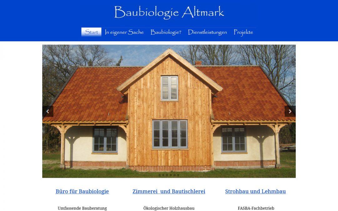 Baubiologie Altmark
